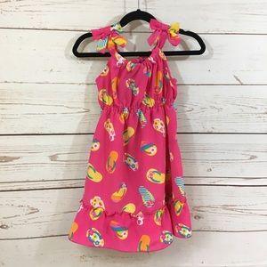 Sweetheart Rose Flip Flop dress